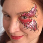 Mardi Gras Eye Design