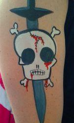 Dagger & Skull